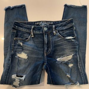 American Eagle Cropped Jeggings